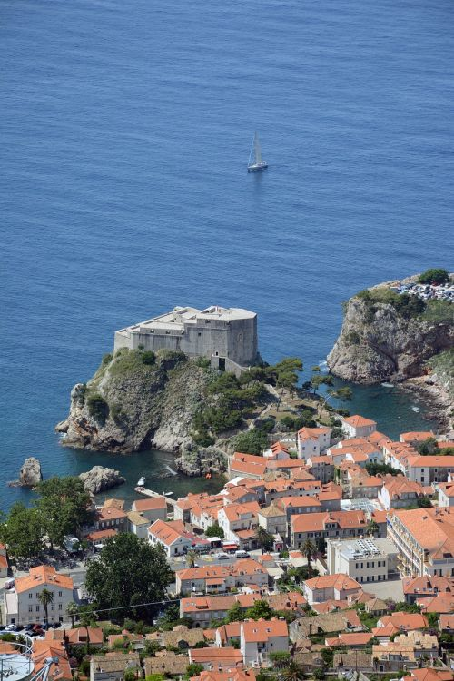 dubrovnik tower old town