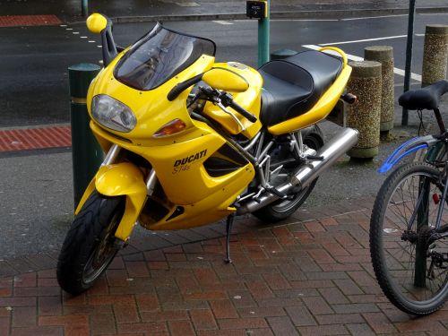 Ducati ST4s Motorcycle