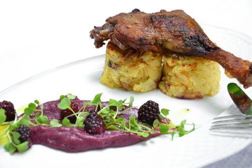 duck cabbage blackberry