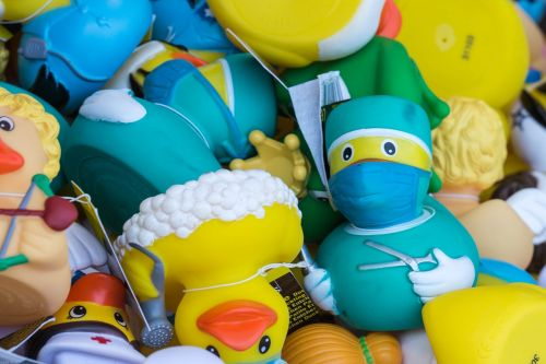 duck toys rubber