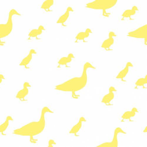 Duck And Ducklings Wallpaper