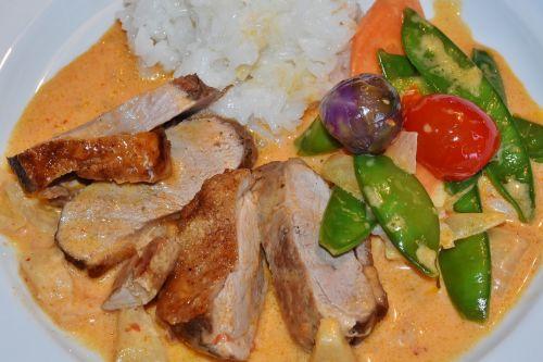duck breast duck vegetables
