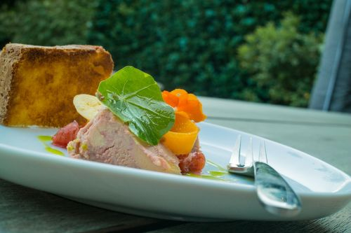 duck liver summer pate