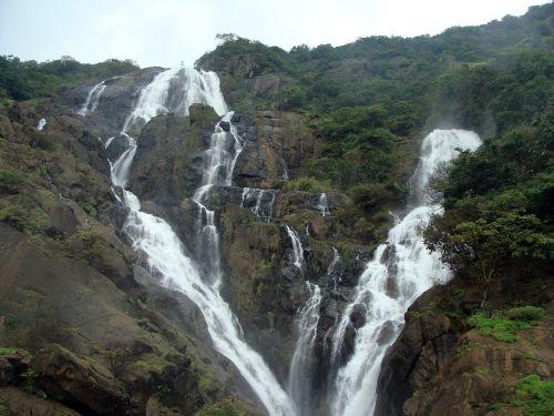 dudhsagar waterfall dudh sagar