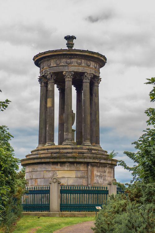dugald stewart monument edinburgh hill