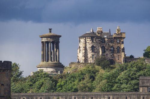 dugald stewart monument calton hill edinburgh