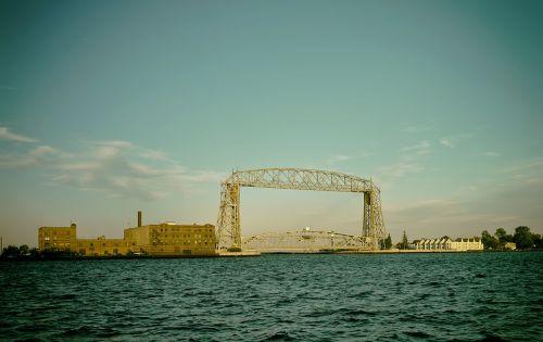 dulutas,minnesota,dangus,debesys,lifto tiltas,architektūra,ežeras,vanduo,upė,lauke,lauke