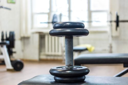 dumbbell gym sports