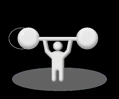 dumbbell lift exercise