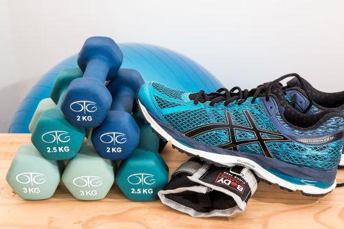 dumbbells training fitness