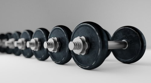 dumbell  barbell  bodybuilding