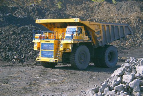 dumper coal mining coal