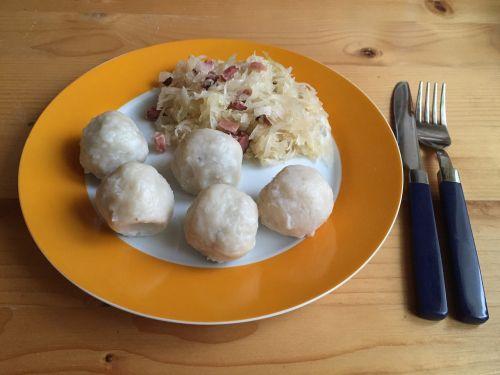 dumpling grammel dumplings sauerkraut