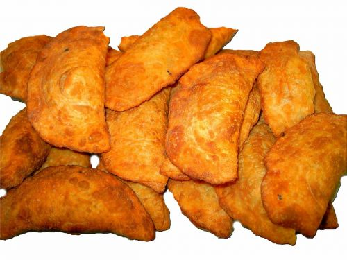 dumplings empanadas deep fried