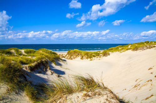 dune sea sky