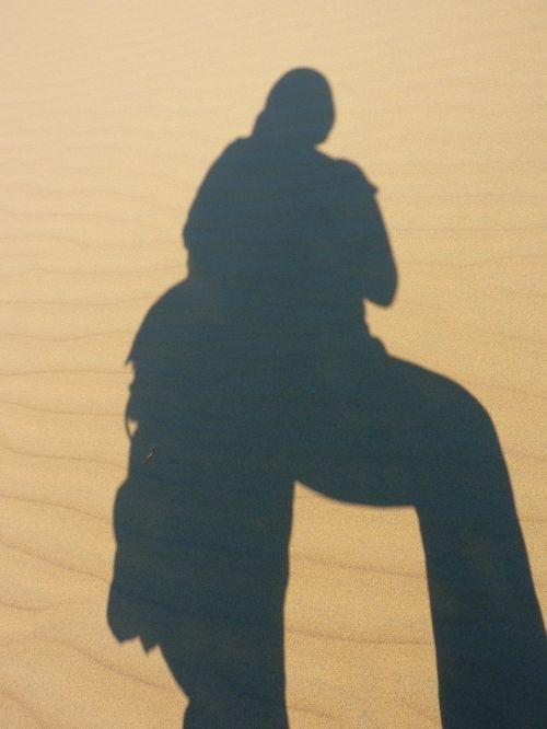kopos,dykuma,sausas,karštas,smėlis,šešėlis,portät,autoportretas,asmuo,žmogus