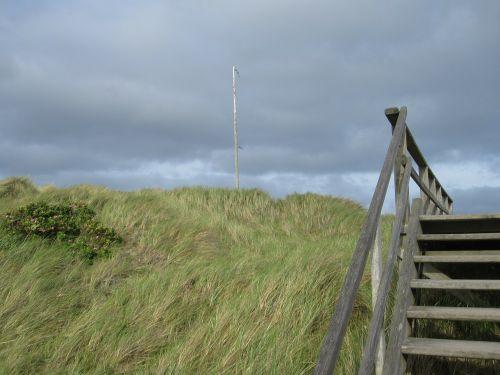 dune stairs friesland
