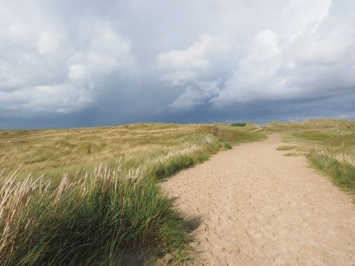 dune landscape trail sylt