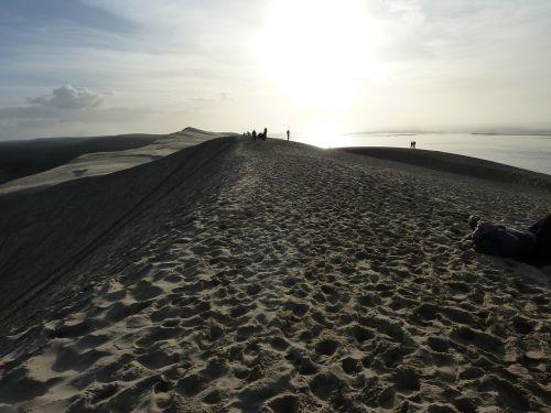 dune of pilat dune sand