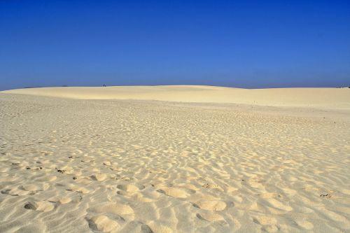 dunes sand ocean