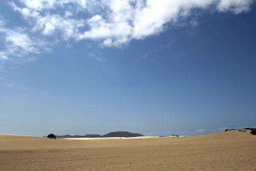 dunes sand sky