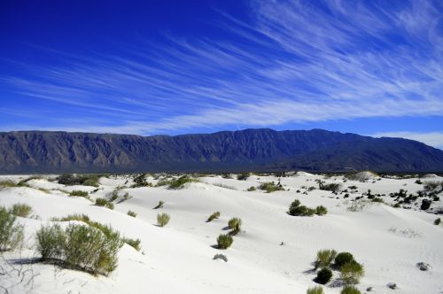 dunes of plaster