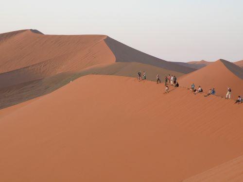 dunes namibia sand