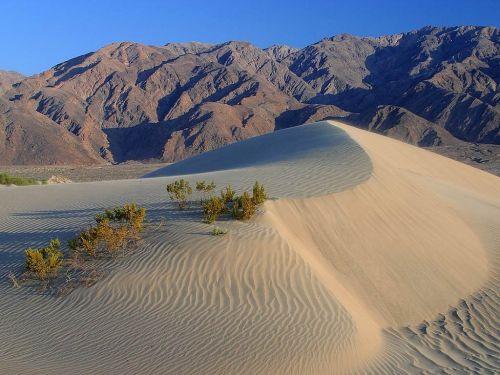 dunes desert death valley