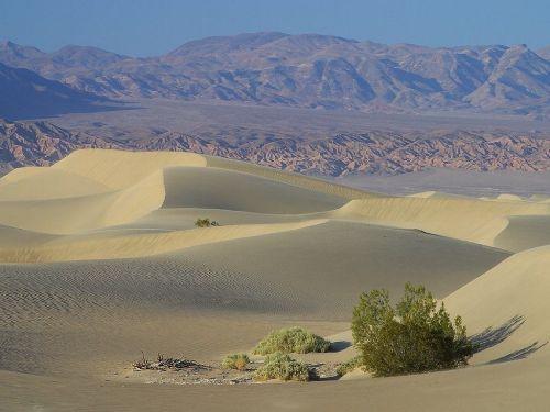 dunes sand desert