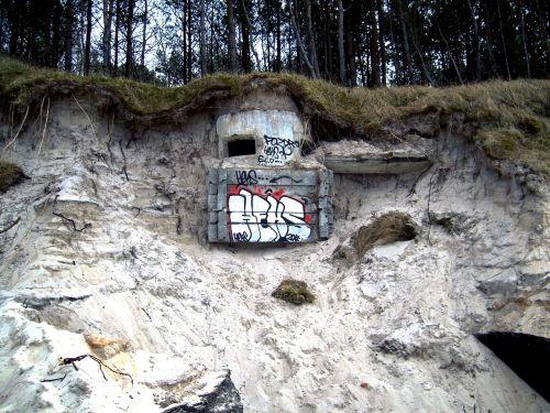 dunes landscape bunker