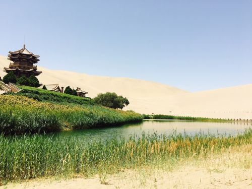 dunhuang crescent lake original