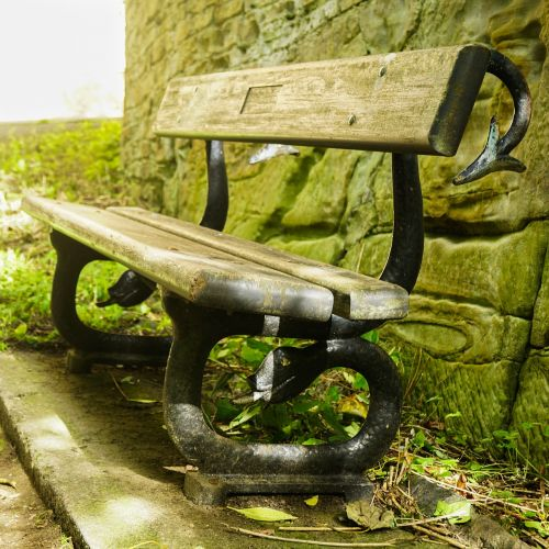 durham bench seat rest stop
