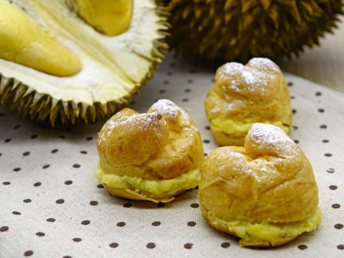 durian puff pastry bakery