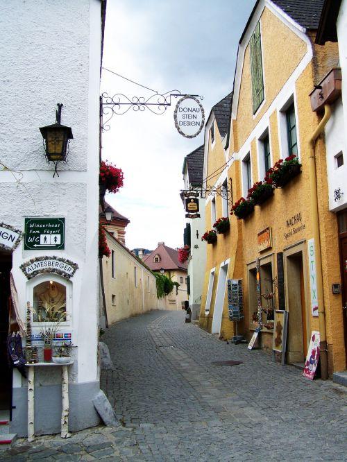 dürnstein street details architecture