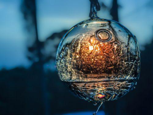 dusk sphere water reflection