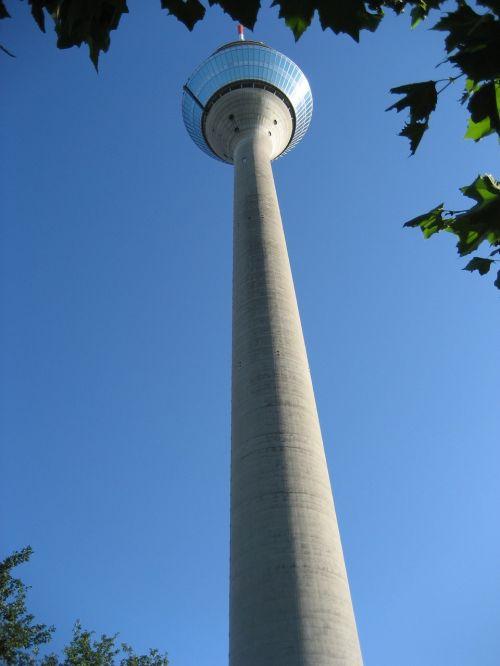 tv tower düsseldorf rhine tower