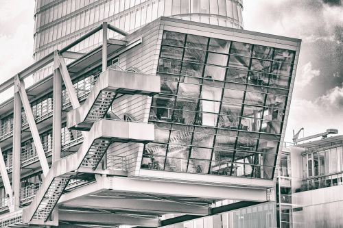 düsseldorf media harbour architecture
