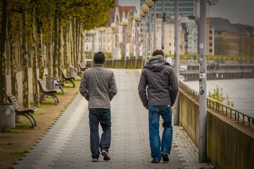 düsseldorf,rhine,friendship,promo,walk,autumn,road,pavement,downtown,city,urban,street,outdoor