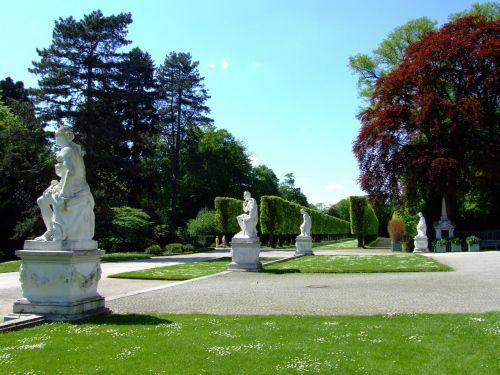castle benrath castle park düsseldorf