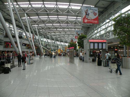 düsseldorf germany international airport