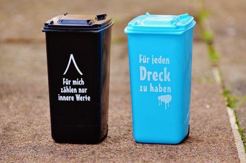 dustbin funny saying