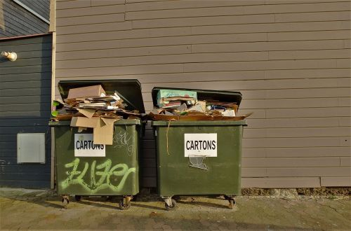 dustbin garbage waste