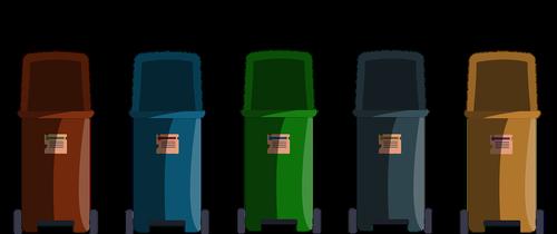 dustbin  waste separation  waste
