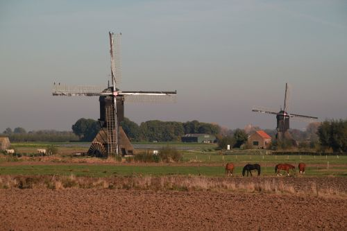 dutch landscape mill