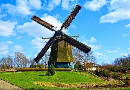 dutch windmill windmill historic windmill