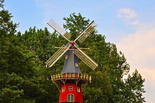 dutch windmill  windmill  mill