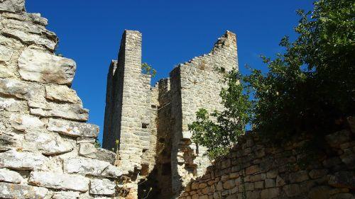 dvigrad croatia ghost town
