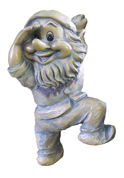 dwarf gnome garden gnome