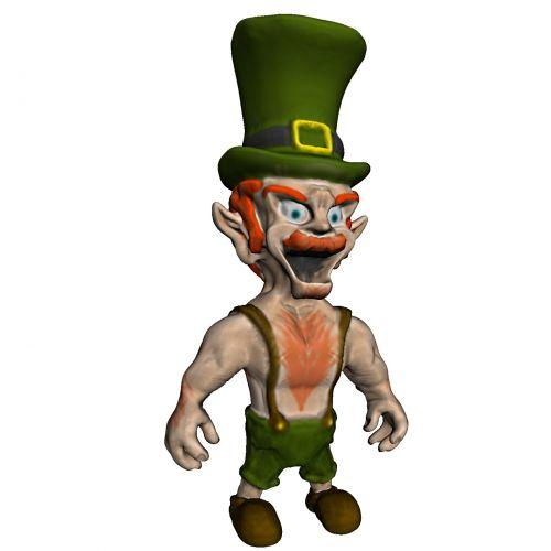 Dwarf In A Hat
