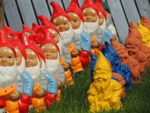 dwarfs imp garden gnome